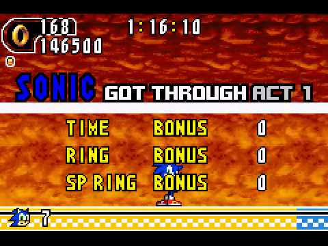 Sonic Advance 2 - Sonic Advance 2 (GBA) - Walkthrough - User video