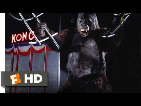 King Kong (89) Movie CLIP - An Escape-Proof Cage (1976) HD