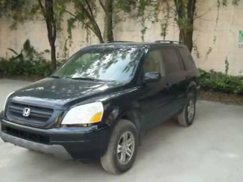 2003 honda pilot start up and test drive