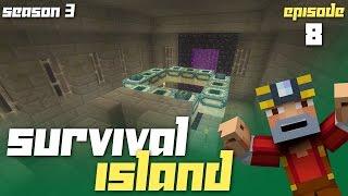 Minecraft Xbox One: Survival Island - Season 3! (Ep.8 - Stronghold!)