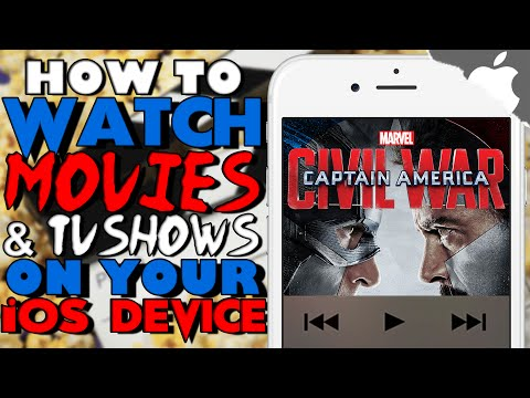 NEW! How To Watch MOVIES and TV SHOWS Free on iOS 10 & ↓ ! (NO JAILBREAK) iPhone iPad iPod