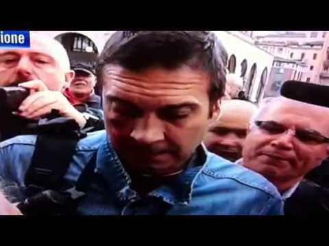 Ferimento alla manifestazione PDL a Brescia (contestazioni)