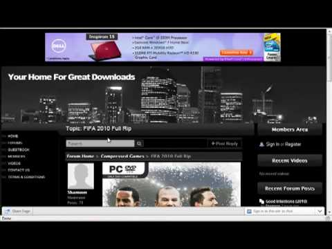FIFA 2010 Full Rip Download For Free