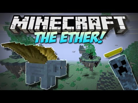 Minecraft   THE ETHER!   (NEW Weapons. Mobs. Bosses & More!) Mod Showcase [1.4.7]