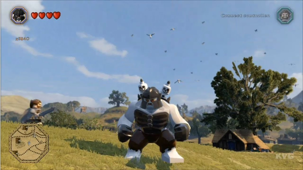 LEGO The Hobbit All Playable Characters Unlocked Free