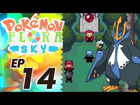 Let's Play Pokemon: Flora Sky - Part 14 - Polar Forest
