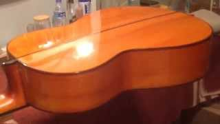 French Polishing A Guitar - Part 2