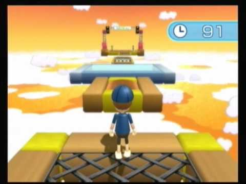Wii Fit Plus Training Plus Part 8: Obstacle Course