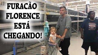 TEM UM FURACÃO VINDO PARA A  NOSSA CIDADE (vlog de preparação)