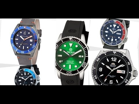 5 Affordable Automatic Quality Dive Watches