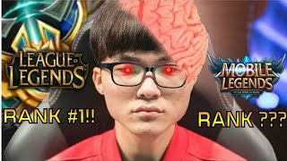 FAKER! RANK 1 PLAYER OF LEAGUE OF LEGENDS PLAYS FANNY!!!! CAN HE SURPASS Zxuan??