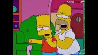 Bart Simpsons getting hurt montage