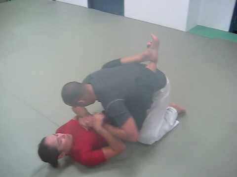 Using Flexibility in an Open Guard to Prevent Passing in Submission Grappling Image 1