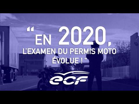 Nouveau permis MOTO 2020