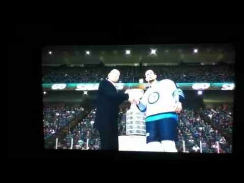 NHL 12 - Winnipeg Jets Stanley Cup Champions