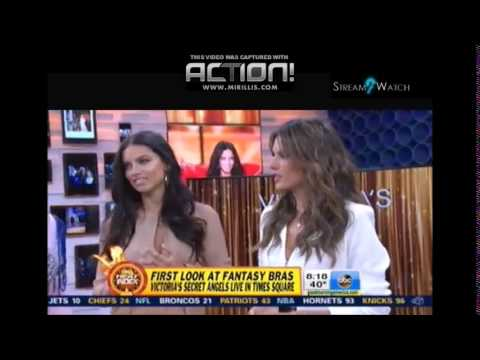 Victoria's Secret's $2M Jeweled Dream Angels Fantasy Bras Revealed on 'GMA'