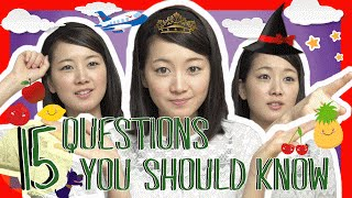 Learn the Top 15 Japanese Questions You Should Know