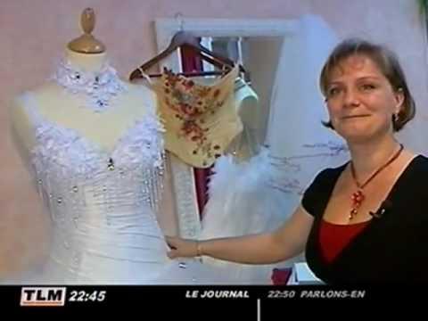 Delphine Pinel, créatrice de robes de mariées