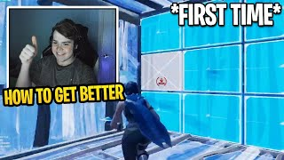 Mongraal First Time Teaching His Viewers How to Get Better at Fortnite (Editing, Building & Aim)
