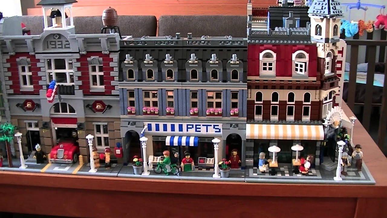 All Lego Modular Buildings