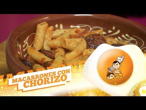 Receta 133# Macarrones con Chorizo