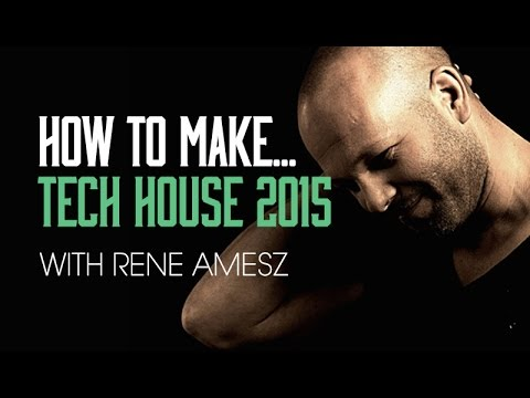 Make Tech House with Rene Amesz - Percussion