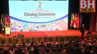 Sidang Kemuncak ASEAN Ke-27 berakhir
