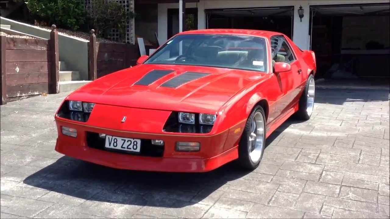 New Camaro Iroc >> 1986 Z28 IROC Camaro - For Sale (Trade Me NZ) - YouTube