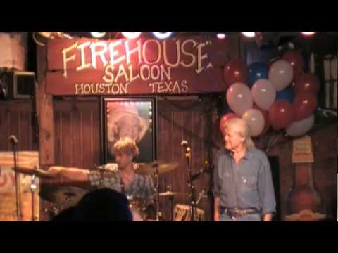 billy joe shaver georgia on a fast train live at the firehouse saloon 08/15/09