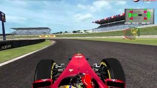 F1 KC 2011 mód Egy kör braziliában