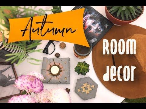 DIY Autumn ROOM DECOR / Осенний декор комнаты