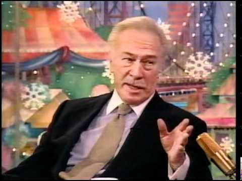 15 Dec. 2000 Christopher Plummer in Rosie O'Donnell Show