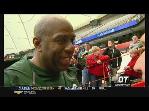 Magic Johnson weighs in on Final Four run