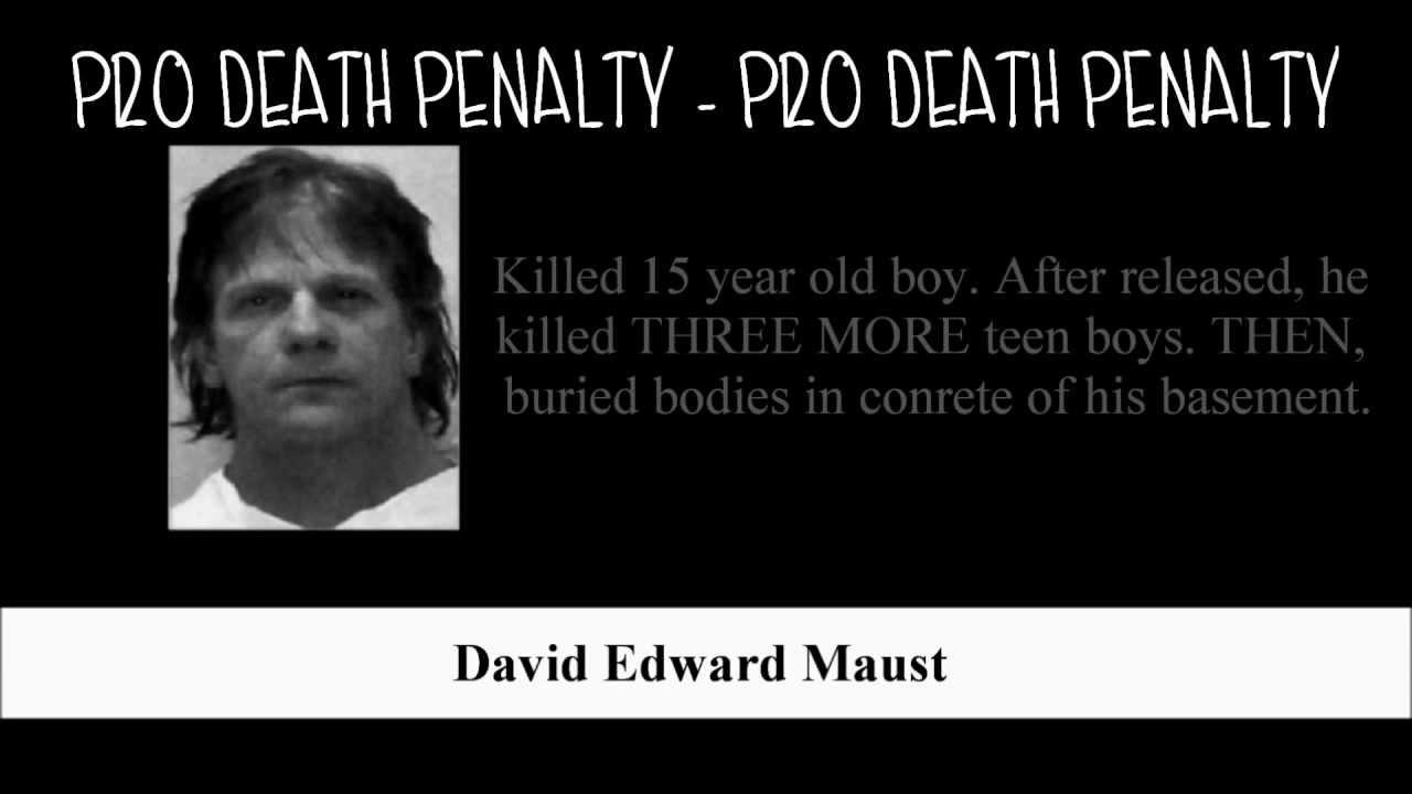 Pro death penalty essay