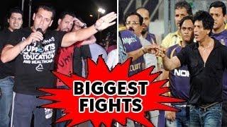 Shahrukh Khan & Salman Khan's BIGGEST FIGHTS: MUST WATCH