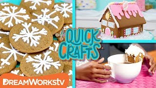 3 Holiday Gingerbread Ideas | QUICK CRAFTS