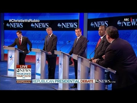 The ABC GOP Debate in 90 seconds