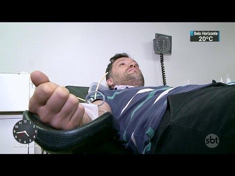 Justiça pode proibir app que reúne descontos para doadores de sangue | SBT Notícias (21/11/17)