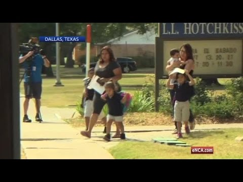 Dallas parents pull children from schools