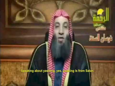Prophet of Islam: Yawning is from Satan, but Sneezing is from Allah!