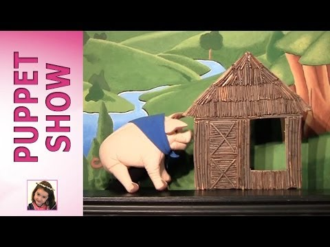 Princess Rosie: The Three Little Pigs-Puppet Show