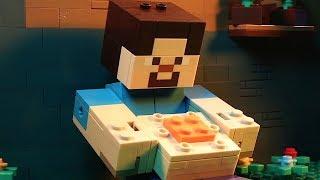 LEGO Minecraft Big Figs Set Stop Motion Animation 2019 Compilation Movie - Funny Brickfilm Video!