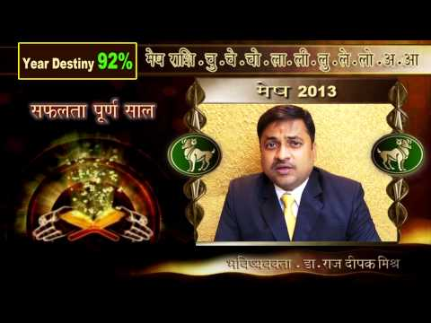 MESH (ARIES) RASHI 2013 HOROSCOPE BY DR RAJDEEPAK MISHRA