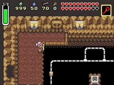 Zelda Link to the Past Changes from SNES to GBA part 1