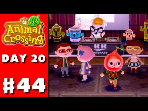 Animal Crossing: New Leaf - Part 44 - Club LOL (Nintendo 3DS Day 20)