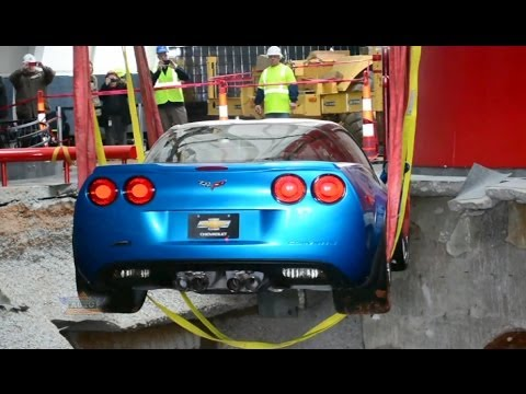Historic Corvettes Rescued from Museum Sinkhole
