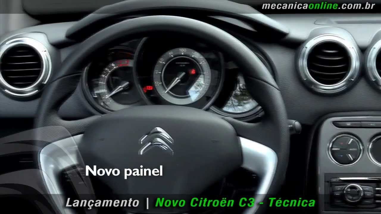 Novo Citroën c3 Técnica