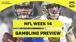 49ers/Saints, Chiefs/Pats & Previewing NFL Week 14 Gambling with Warren Sharp | The Lefkoe Show