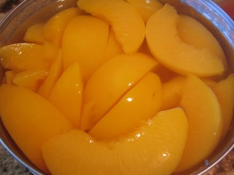~Dehydrating Canned Peaches From The Pantry~