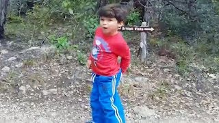 Funny Kids Camping Fails